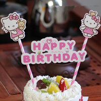 Hello Kitty Cake Flag Topper