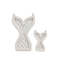 Mermaid Cutter 2pcs 11cm-6cm