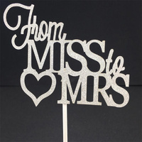 From Miss To Mrs Topper