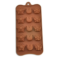 Mixed Flower Silicone Chocolate Mould