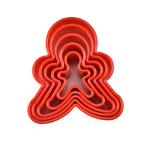 Ginger Bread People Cookie Cutter Set 5pcs