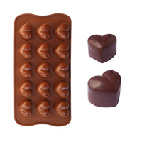 Silicone Chocolate Heart Mould