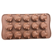 Pig Silicone Chocolate Mould
