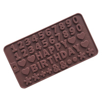 Text Silicone Chocolate Mould