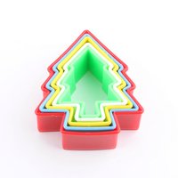 Xmas Tree Cookie Cutter Set 5pcs