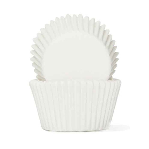 WHITE BAKING CUPS 4.4CM - 100 PACK