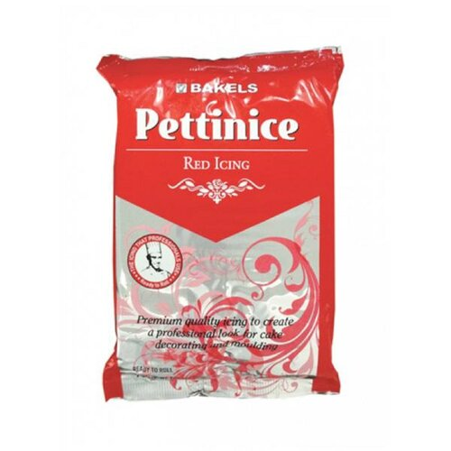 Bakels Pettinice Red Icing Fondant - 750g