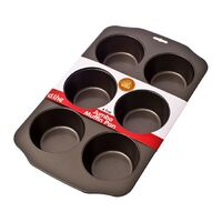 Daily Bake Non-Stick 6 Cup Jumbo Muffin Pan
