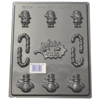 Home Style Chocolates Merry Christmas Chocolate Mould