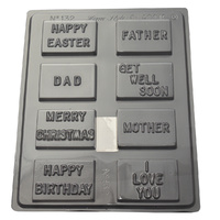 Home Style Chocolates Messages Assorted Chocolate Mould