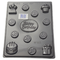 Home Style Chocolates Happy Birthday Chocolate Mould