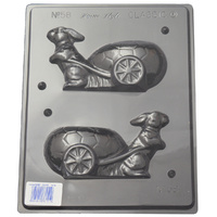 Home Style Chocolates Rabbit & Cart Chocolate Mould