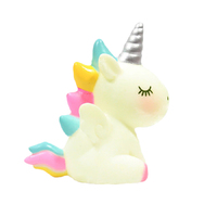 Unicorn White Decoration 7cm