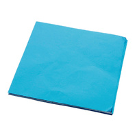 Foil Chocolate Wrap Light Blue 8x8cm Square 100pcs