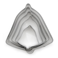 Bell Cookie Cutter 5pc Set
