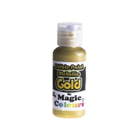 Magic Colours Edible Metallic Paint Gold - 32g