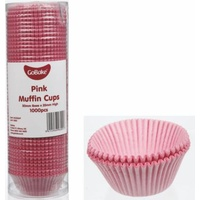 Gobake Baking Cups Pink - 1000 Pack