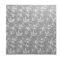 10 Inch Square Silver 9mm Masonite