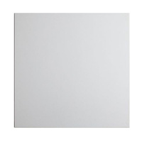 12 Inch Square White 9mm Masonite