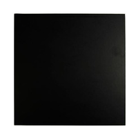 18 Inch Square Black 9mm Masonite