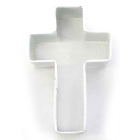 CROSS COOKIE CUTTER - WHITE