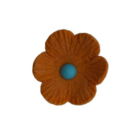 25mm Icing Daisy Orange