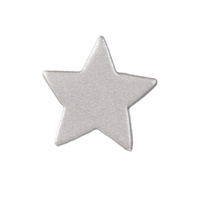 Gumpaste Light Silver/Purplish Star 3cm