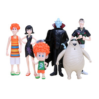 Hotel Transylvania Toy Decoration Set 7pcs