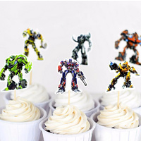 Transformers Cupcake Picks 24pcs